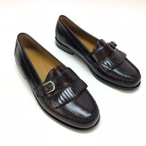 Cole Haan brown leather loafers size 7.5 NWOT